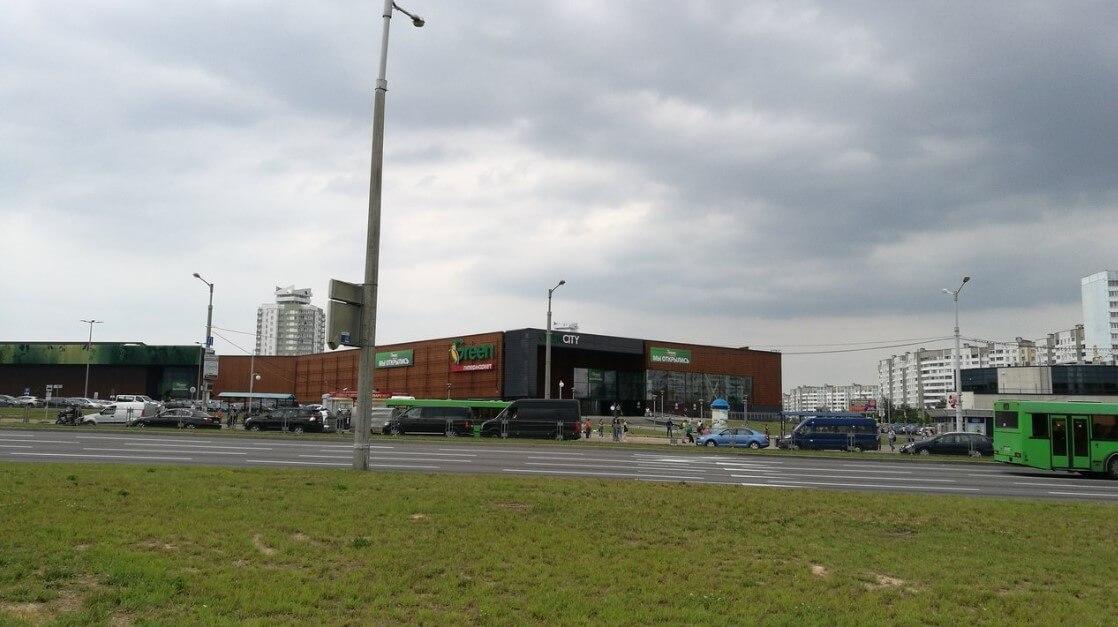 Гипермаркет Грин Сити на улице Притыцкого 156