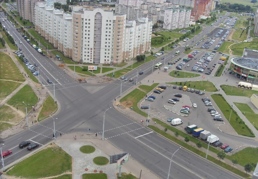 Микрорайон Сухарево