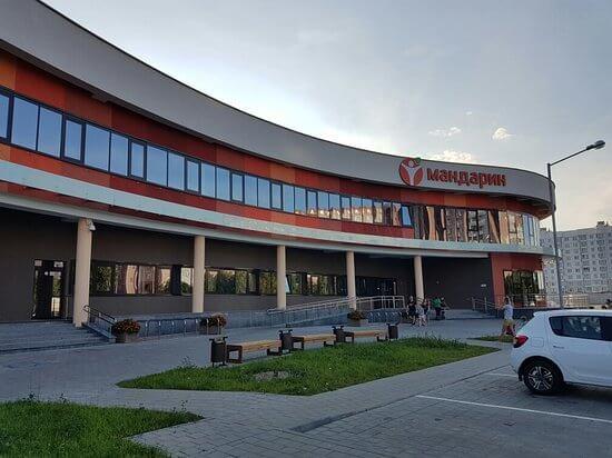 Эвакуатор на Ангарской Спортивный комплекс Мандарин, ул. Герасименко 51