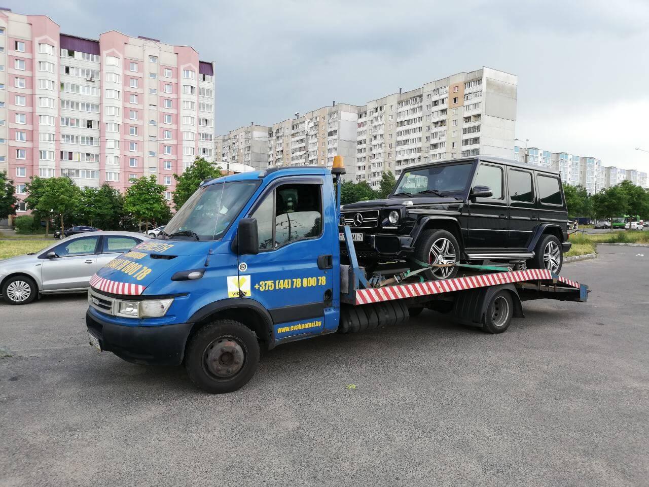 Эвакуатор для джипа в Минске