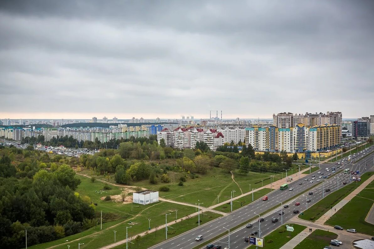 Микрорайон Запад в Минске