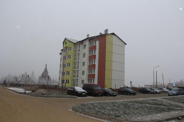 агрогородок Новоселье