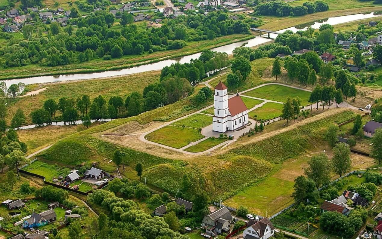 Город Заславль в Минском районе