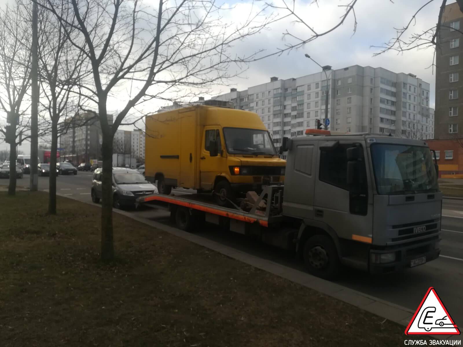 Эвакуация Mersedes 310 в Минске